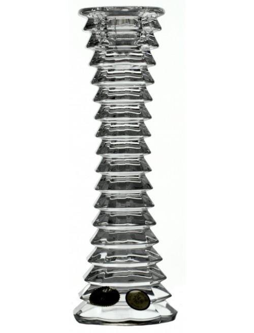 Krištáľový svietnik Blade, farba číry krištáľ, výška 180 mm