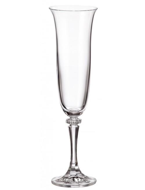 Set pohár na víno Branta 6x, bezolovnatý crystalite, objem 175 ml