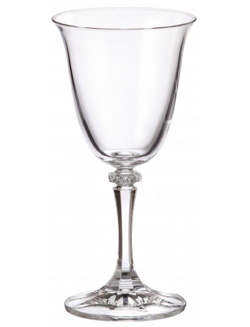 Set pohár na víno Branta 6x, bezolovnatý crystalite, objem 250 ml