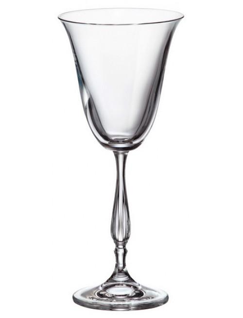 Set pohár na víno Fregata 6x, bezolovnatý crystalite, objem 185 ml