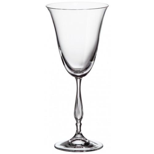Set pohár na víno Fregata 6x, bezolovnatý crystalite, objem 250 ml