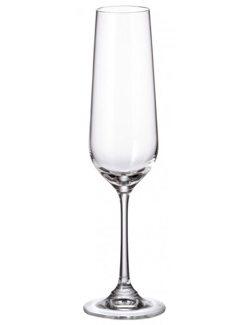 Set pohár na víno Strix 6x, bezolovnatý crystalite, objem 200 ml