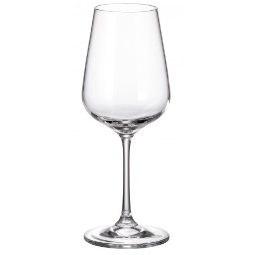 Set pohár na víno Strix 6x, bezolovnatý crystalite, objem 360 ml