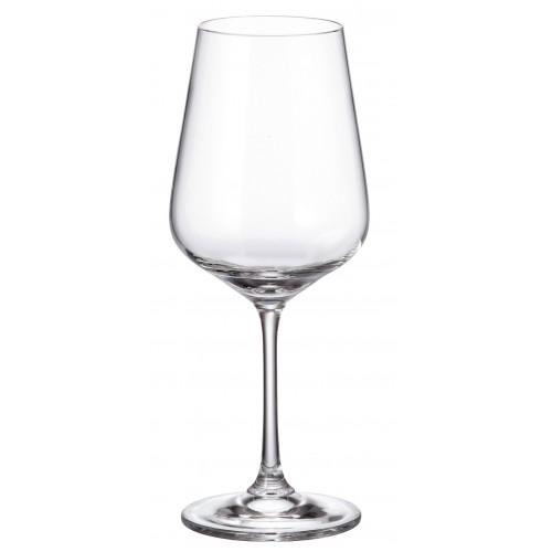 Set pohár na víno Strix 6x, bezolovnatý crystalite, objem 450 ml