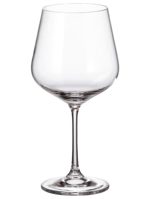 Set pohár na víno Strix 6x, bezolovnatý crystalite, objem 600 ml