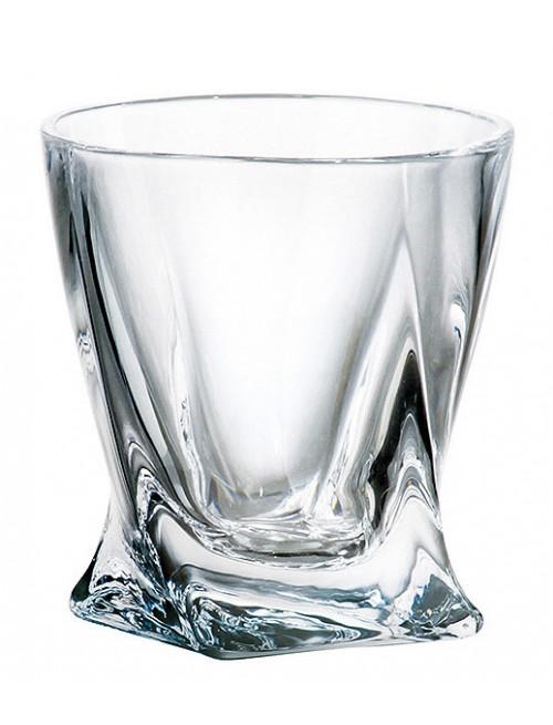 Pohárik Quadro, bezolovnatý crystalite, objem 55 ml