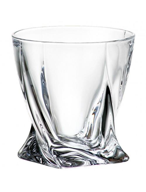 Pohár Quadro, bezolovnatý, crystalite, objem 340 ml