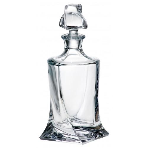 Fľaša Quadro, bezolovnatý crystalite, objem 850 ml