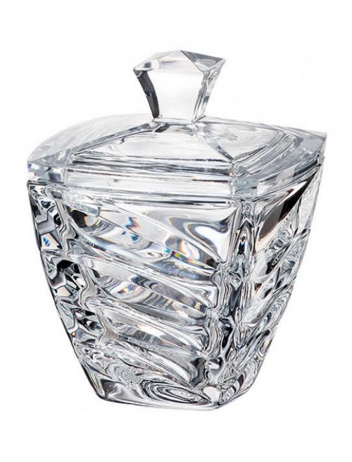 Dóza Facet, bezolovnatý crystalite, priemer 140 mm
