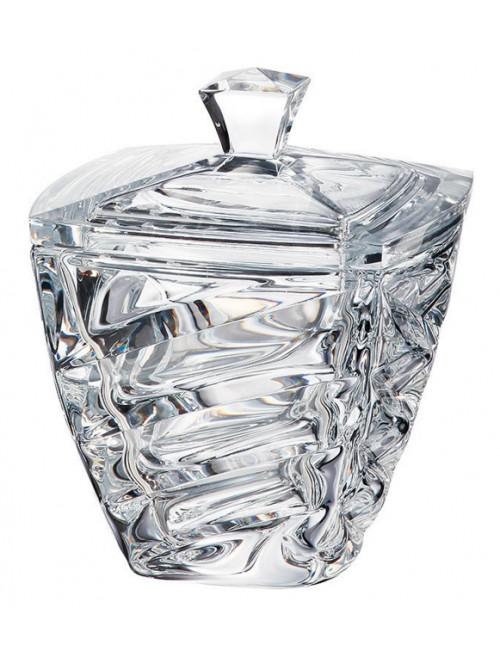 Dóza Facet, bezolovnatý crystalite, priemer 180 mm
