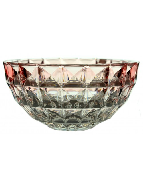 Misa Diamond, bezolovnatý crystalite, farba ružová, priemer 280 mm