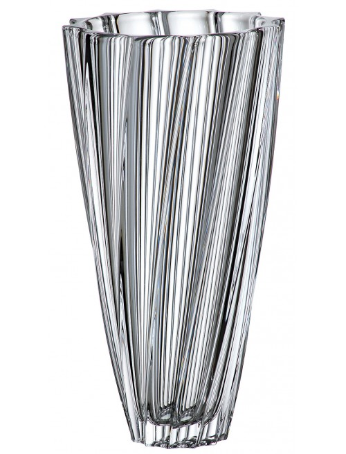 Váza Scallop, bezolovnatý crystalite, výška 355 mm