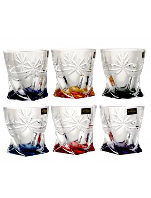 Set pohár Mašľa 6x, bezolovnatý crystalite, objem 340 ml