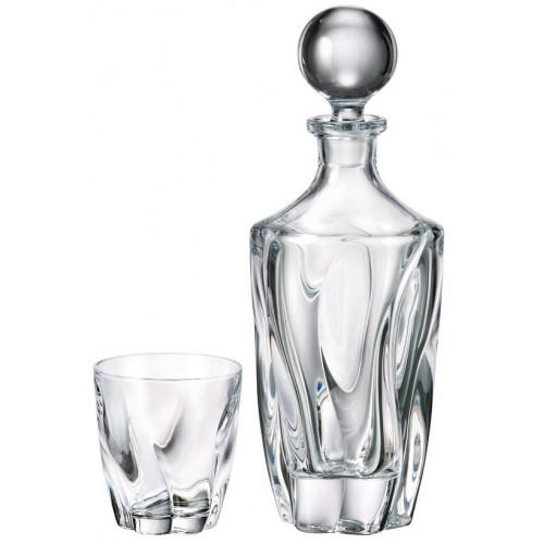 Set Whisky Barley 1+6, bezolovnatý crystalite