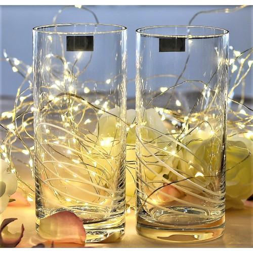 Set 2x pohár, bezolovnatý crystalite, objem 350 ml