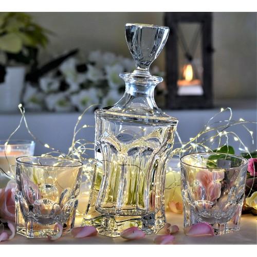Set Whisky Acapulco 1+6, bezolovnatý crystalite