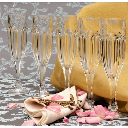 Set pohár na víno Safari 6x, bezolovnatý crystalite, objem 150 ml