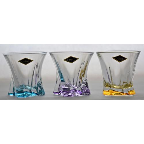 Set pohár Cooper 6x, bezolovnatý crystalite, objem 320 ml