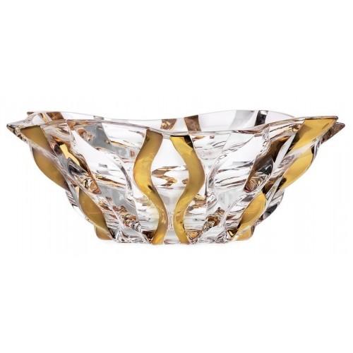 Misa Samba zlato, bezolovnatý crystalite, priemer 305 mm