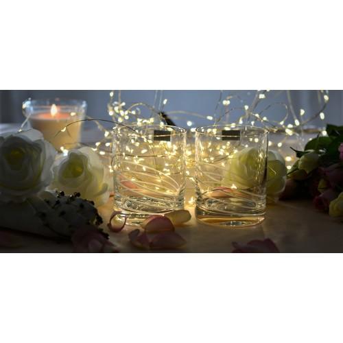 Set 2x pohár, bezolovnatý crystalite, objem 320 ml