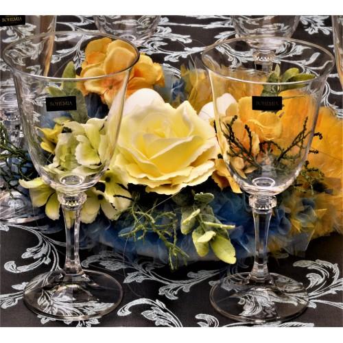 Set pohár na víno Branta 6x, bezolovnatý crystalite, objem 360 ml