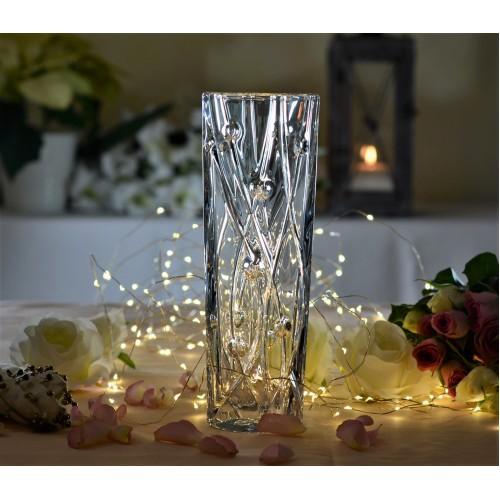 Váza Labyrinth Slim, bezolovnatý crystalite, výška 255 mm