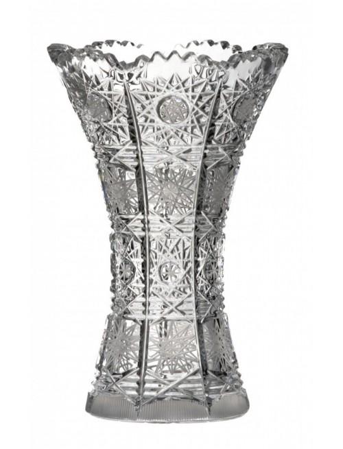 Krištáľová váza 500PK I, farba číry krištáľ, výška 205 mm