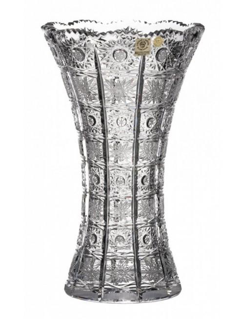 Krištáľová váza 500PK II, farba číry krištáľ, výška 255 mm