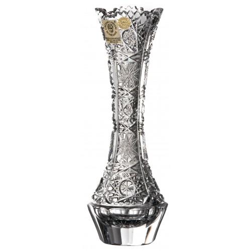 Krištáľová váza 500PK, farba číry krištáľ, výška 205 mm