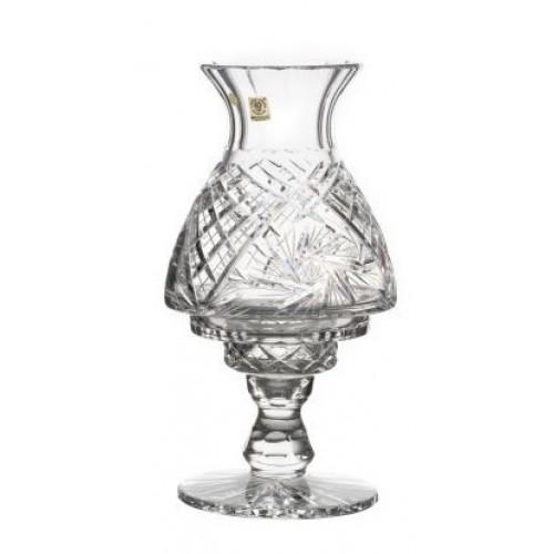 Krištáľová lampa Veterník, farba číry krištáľ, výška 310 mm