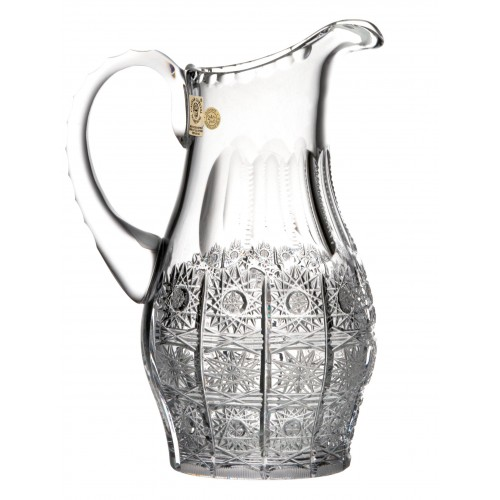Krištáľový džbán 500PK, farba čirý krištáľ, objem 600 ml