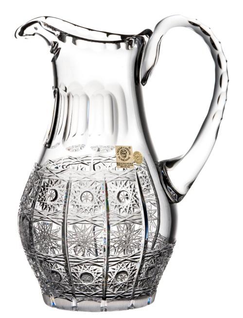 Krištáľový džbán 500PK, farba čirý krištáľ, objem 900 ml