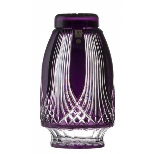 Krištáľová urna Gotik, farba fialová, výška 280 mm