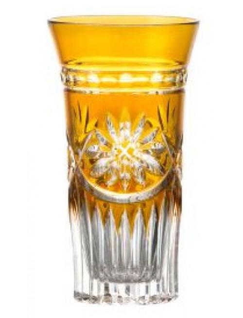 Krištáľový pohár Lili, farba jantárová, objem 120 ml