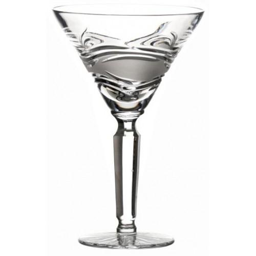 Krištáľový pohár na víno Sázava, farba číry krištáľ, objem 250 ml