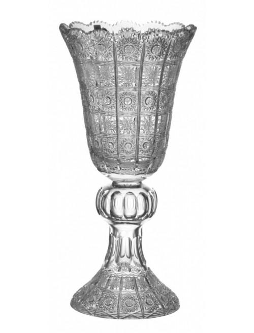 Krištáľová váza 500PK, farba číry krištáľ, výška 430 mm