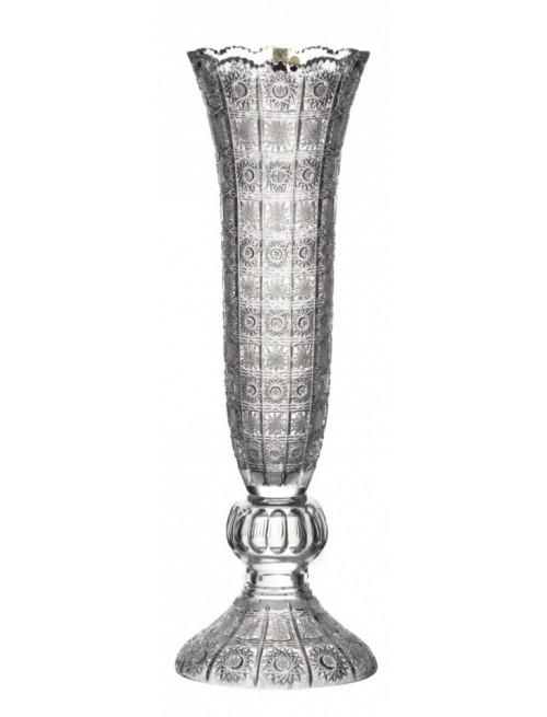 Krištáľová váza 500PK, farba číry krištáľ, výška 585 mm