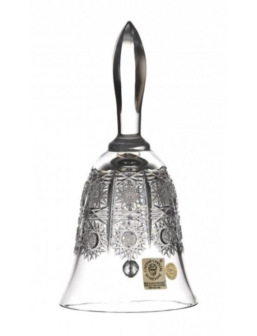 Krištáľový zvonček 500PK, farba číry krištáľ, výška 165 mm