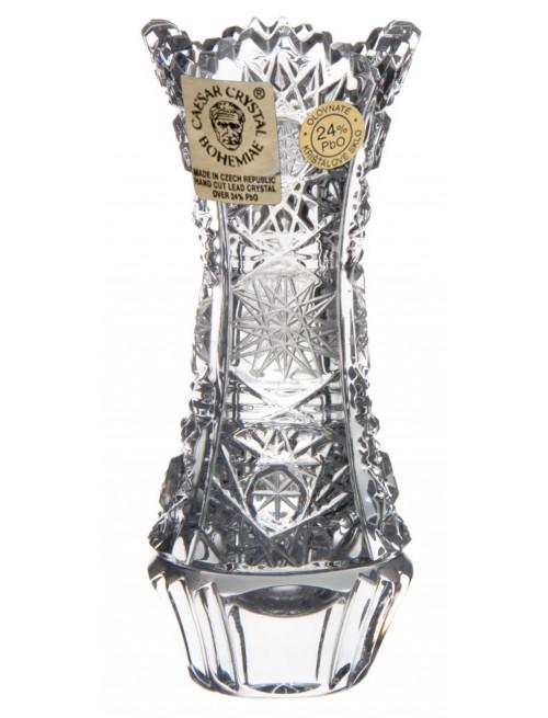 Krištáľová váza 500PK, farba číry krištáľ, výška 90 mm