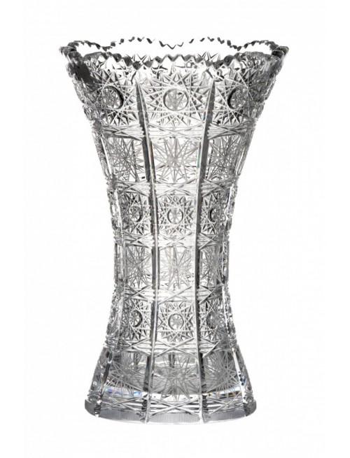 Krištáľová váza 500PK, farba číry krištáľ, výška 280 mm