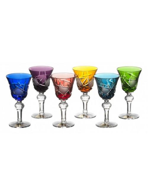 Krištáľový set pohárik Mars 050, farba mix farieb, objem 50ml