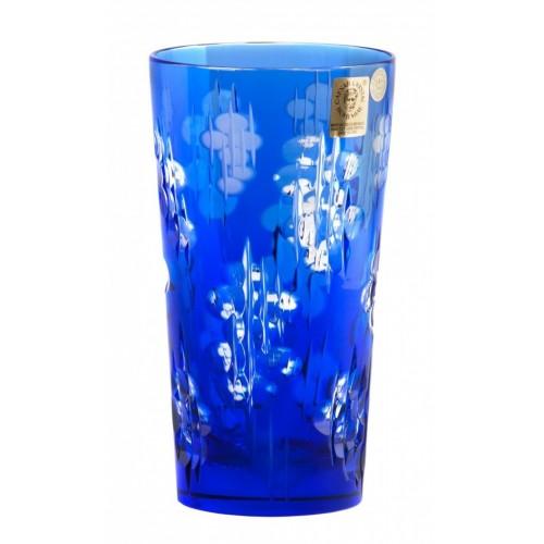 Krištáľový pohár Silentio, farba modrá, objem 320 ml