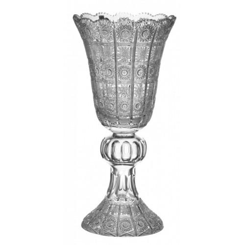 Krištáľová váza 500PK, farba číry krištáľ, výška 505 mm