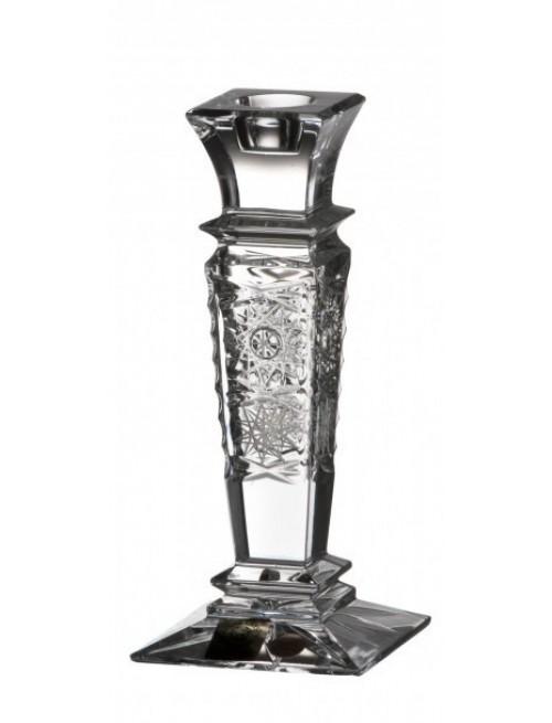 Krištáľový svietnik Wist 500PK, farba číry krištáľ, výška 150 mm
