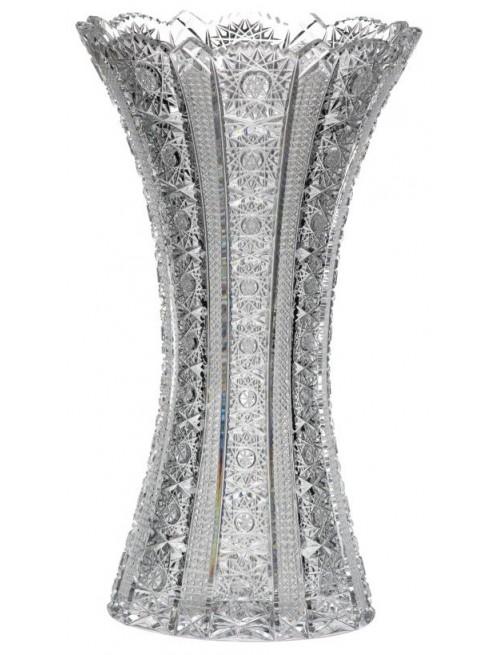 Krištáľová váza Iris, farba číry krištáľ, výška 305 mm
