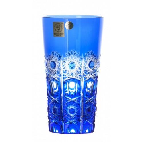 Krištáľový pohár Petra, farba modrá, objem 320 ml