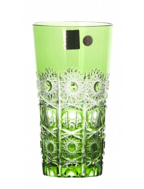 Krištáľový pohár Petra, farba zelená, objem 320 ml