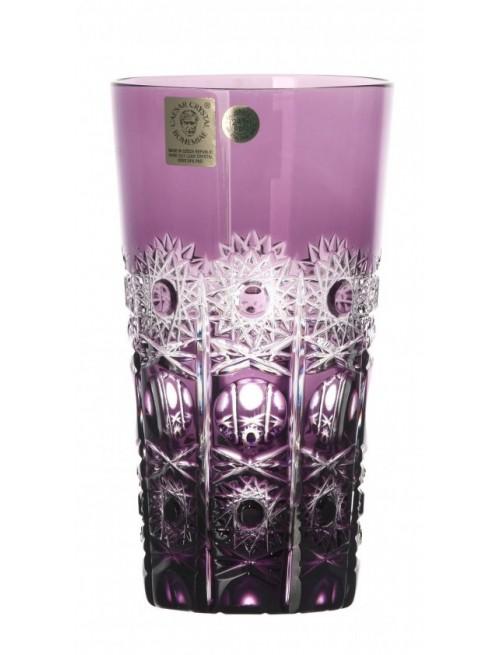 Krištáľový pohár Petra, farba fialová, objem 320 ml