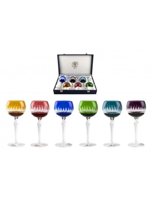 Krištáľový set pohár na víno Thorn 190 Lux, farba mix farieb, objem 190 ml