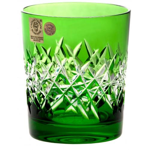 Krištáľový pohár Hoarfrost, farba zelená, objem 290 ml